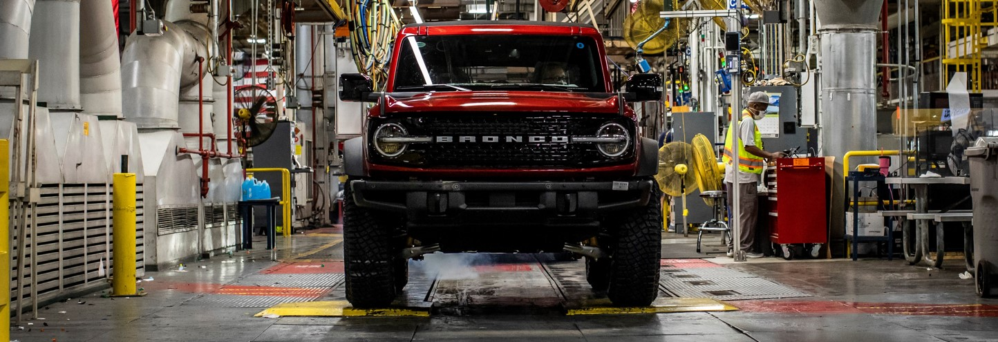Ford Bronco Factory Creates American Jobs | Packey Webb Ford | Downers Grove, IL